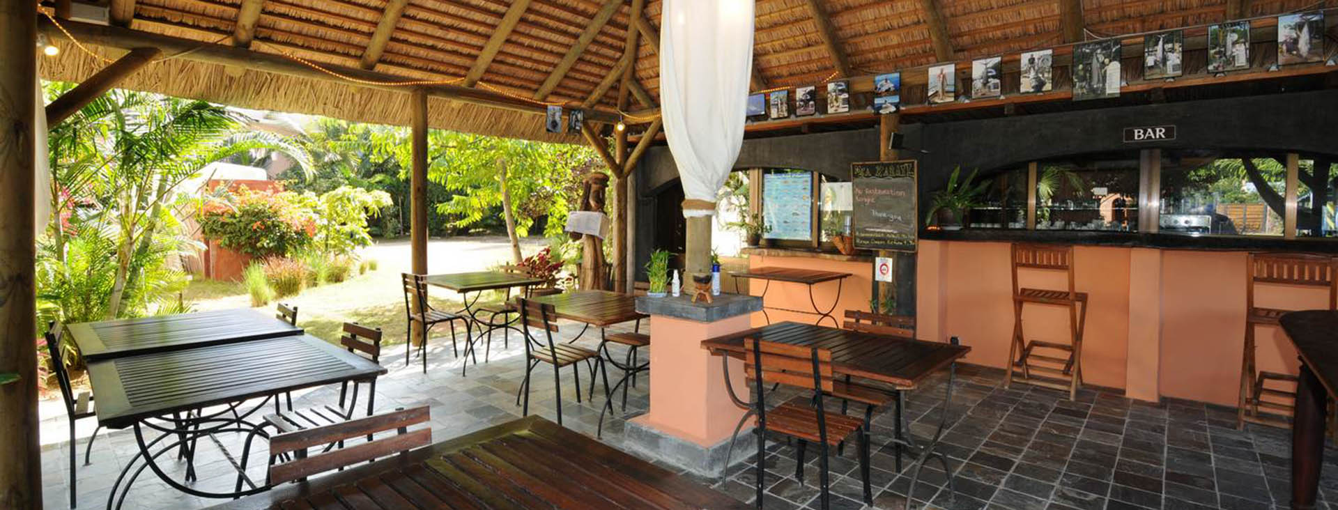 Holidays rental Mauritius Restaurant and Bar